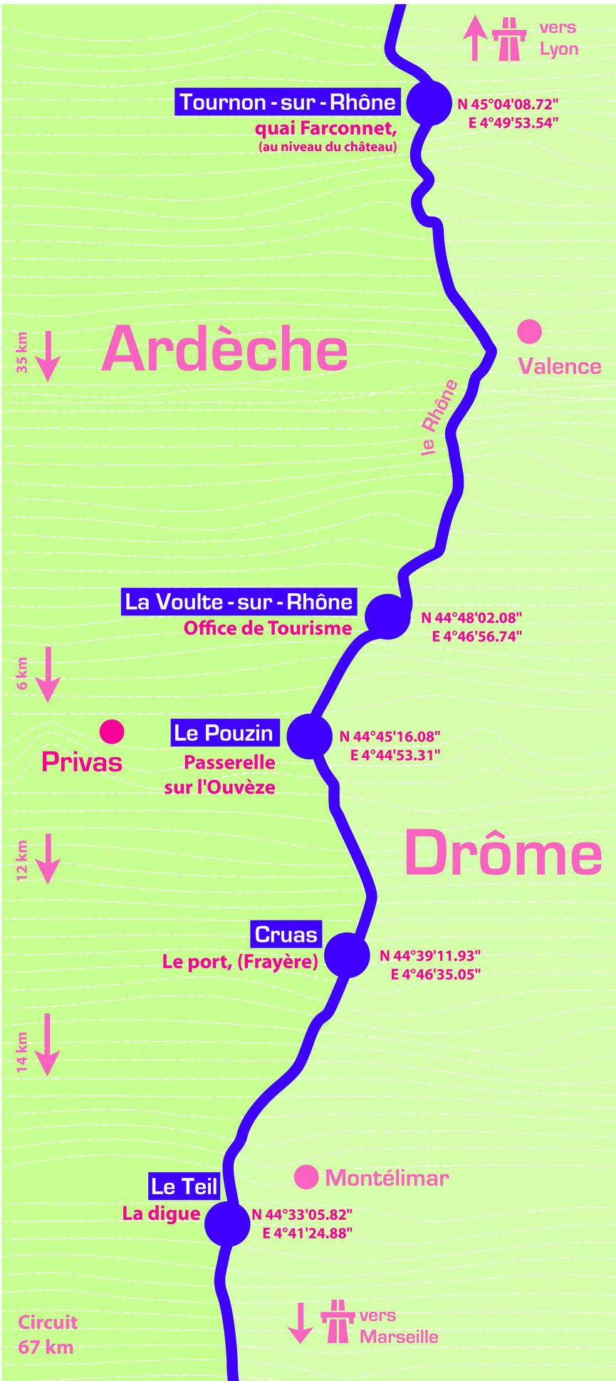 Parcours Sentier 2013